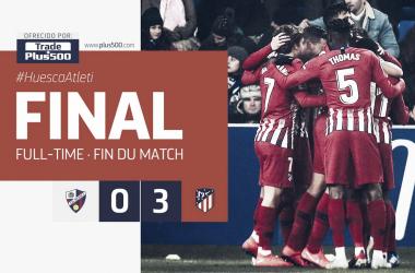 Resultado final del encuentro. /Foto: Club Atlético de Madrid.