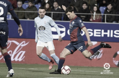 Resumen Celta de Vigo vs Huesca (2-1)