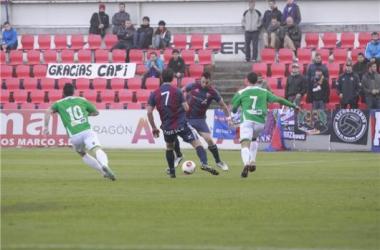 Huesca y Toledo se reparten los puntos en El Alcoraz