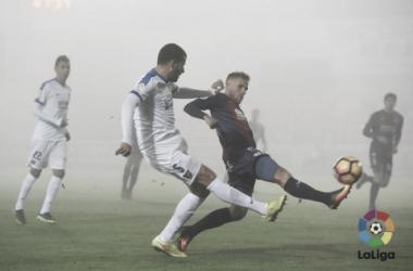 El UCAM cae derrotado en El Alcoraz | Imagen: LaLiga