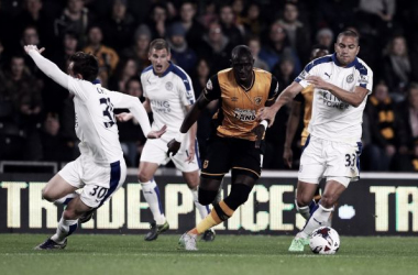 Hull City 1-1 (AET 5-4 on penalties) Leicester City: Perfect shootout for Tigers as history made at Foxes' expense