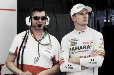 Nico Hulkenberg está na lista de pilotos com atraso nos pagamentos. (Foto:Divulgação / Hulkenberg)
