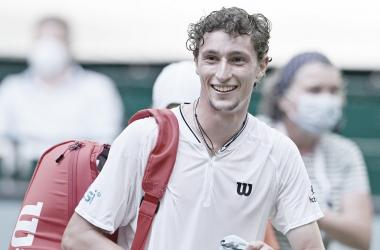 Ugo Humbert venceu Felix Auger-Aliassime no ATP 500 de Halle 2021 (Divulgação/ATP)