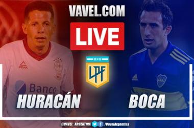 Resumen Huracán vs Boca (0-2) en la fecha 11 por Copa de la Liga Profesional 2021