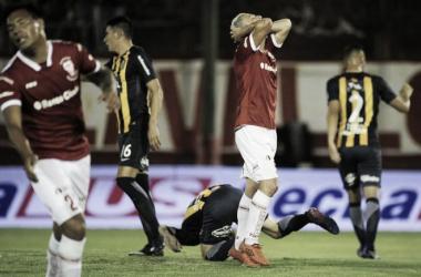 Fernando Coniglio erró un penal. | Foto: ESPN