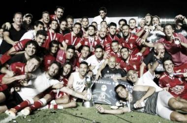 El Globo salió campeón de la edición 2013/14. | Foto: Infobae