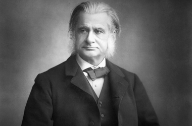 Foto de Thomas Henry Huxley impresa de Lock & Whitefield (Londres, 1880)