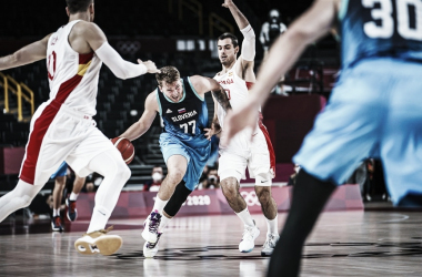 Highlights: Slovenia 94-70 Germany in Basketball in Tokyo Olympics
