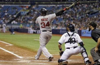 David Ortiz Hits 500th Home Run, Red Sox Beat Rays, 10-4