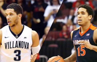 Villanova guard Josh Hart and Virginia senior Malcolm Brogdon. USA Today Sports