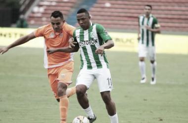 El jugador espera seguir con su nivel en alza y retomar su máximo nivel. | Foto: Club Atlético Nacional