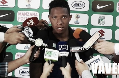 Luego de una lesión en el partido contra Millonarios, Andrés Felipe Ibarguüen no podrá jugar el partido de semifinales ante el Kashima Antlers. Fotomontaje: Vavel Colombia
