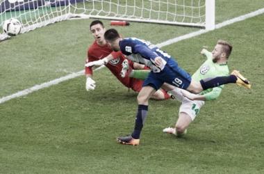 Hertha bate Wolfsburg em casa e se aproxima de classificação à Uefa Europa League