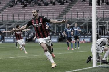 Ibra marca dois na vitória do Milan em clássico contra a Internazionale