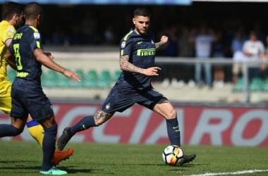 L'Inter sbanca il Bentegodi e rimane agganciata al treno per la Champions League