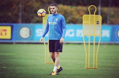 Inter, Icardi ancora in dubbio | Twitter