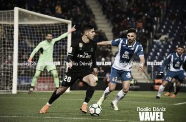 Marc Navarro ante el Real Madrid (Noelia Déniz)