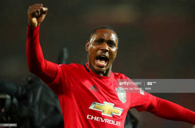 Ighalo gives hint to future midfield partnership for Manchester United