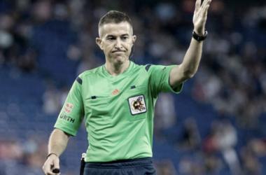 Iglesias Villanueva dirigirá el Atleti-Valencia