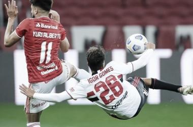Internacional 0 a 2 São Paulo (São Paulo FC / Divulgação)