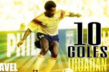 Arnoldo Iguarán, el goleador histórico de Colombia en la Copa América
