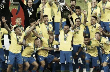 Brasil, la vigente campeona sudamericana | Fotografía: FIFA