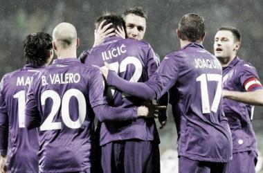 Fiorentina bate Siena e avança à semifinal da Coppa Italia