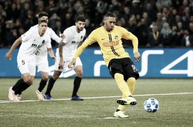 Empate del Valencia a domicilio frente al Young Boys. | Foto: UEFA
