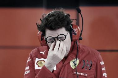 Lástima da Ferrari no GP da Estíria