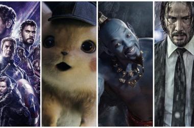 Fotos: Marvel Studios, Warner Bros Pictures, Disney y Lionsgate, respectivamente. Montaje: Omar de Pablo