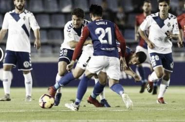 El CD Tenerife no encuentra el gol