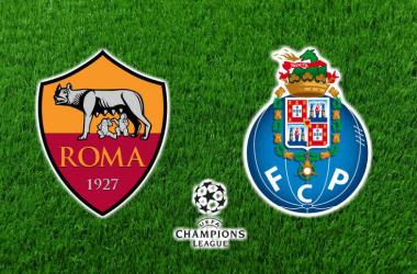 Roma vs FC Porto Fonte: O jogo