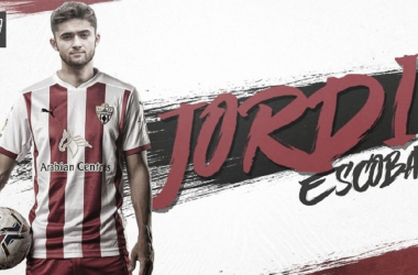 Jordi Escobar, nuevo jugador del Almería