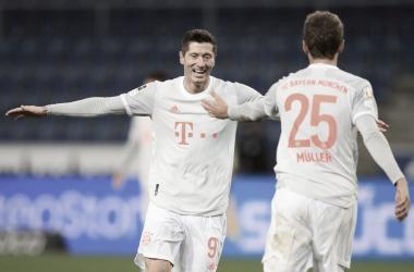 Bayern de Munique derrota Arminia Bielefeld e dorme na vice-liderança alemã