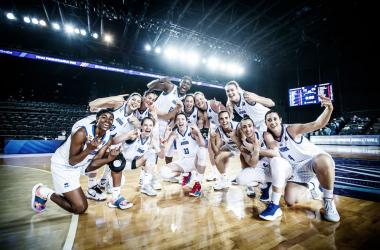 La celebración del éxito / Fuente: EuroLeague Women