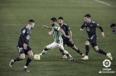 Betis vs Celta | Fuente: LaLiga