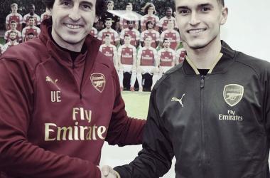 (Foto: Reprodução/Instagram/Arsenal)
