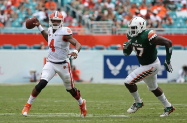 6th Ranked Clemson Tigers Make Statement With 58-0 Victory Over Miami Hurricanes