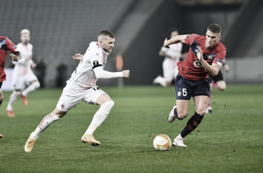 Em duelo de líder contra vice-líder, Lille busca empate diante do Milan