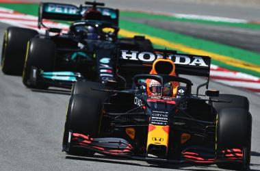 Verstappen en el Circuit de Barcelona-Catalunya. Vía: Formula 1 Official Home