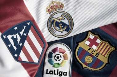 Atlético de Madrid, Real Madrid y Barcelona, se disputan LaLiga.