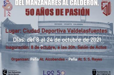 Cartel promocional de la exposición | Foto: Ayto. Alcobendas