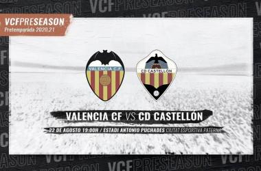 El Valencia se enfrentará al Castellón