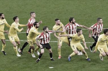 Encuentro entre Athletic Bilbao - Villarreal CF / Foto: Periódico AS