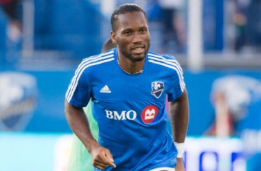 The Montreal Impact will need Didier Drogba to lead the way against Toronto FC on Thursday at the Stade Saputo in the 2015 MLS Cups Playoffs. Photo provided by Graham Hughes-The CANADIAN PRESS.