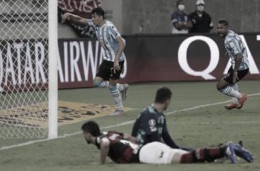Flamengo perde nos pênaltis para o Racing e é eliminado nas oitavas da Libertadores