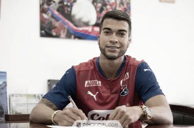 Juan Guillermo Arboleda, nuevo jugador de Independiente Medellín