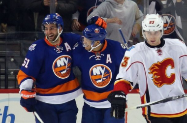 Calgary Flames Struggles Continue, Get Blanked By New York IslandersPicture from Zimbio