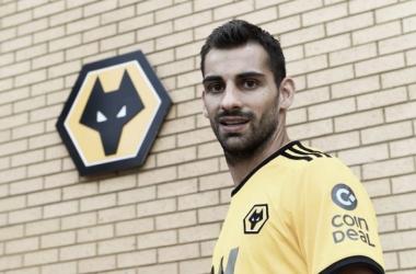 Jonny ya se sumó a los 'Wolves' | Foto: Wolverhampton