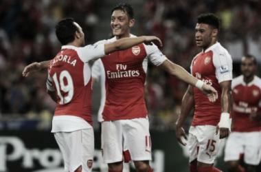 "Mesut Ozil looking forward to a ""big season"""